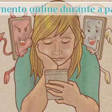 Atendimento online durante a pandemia